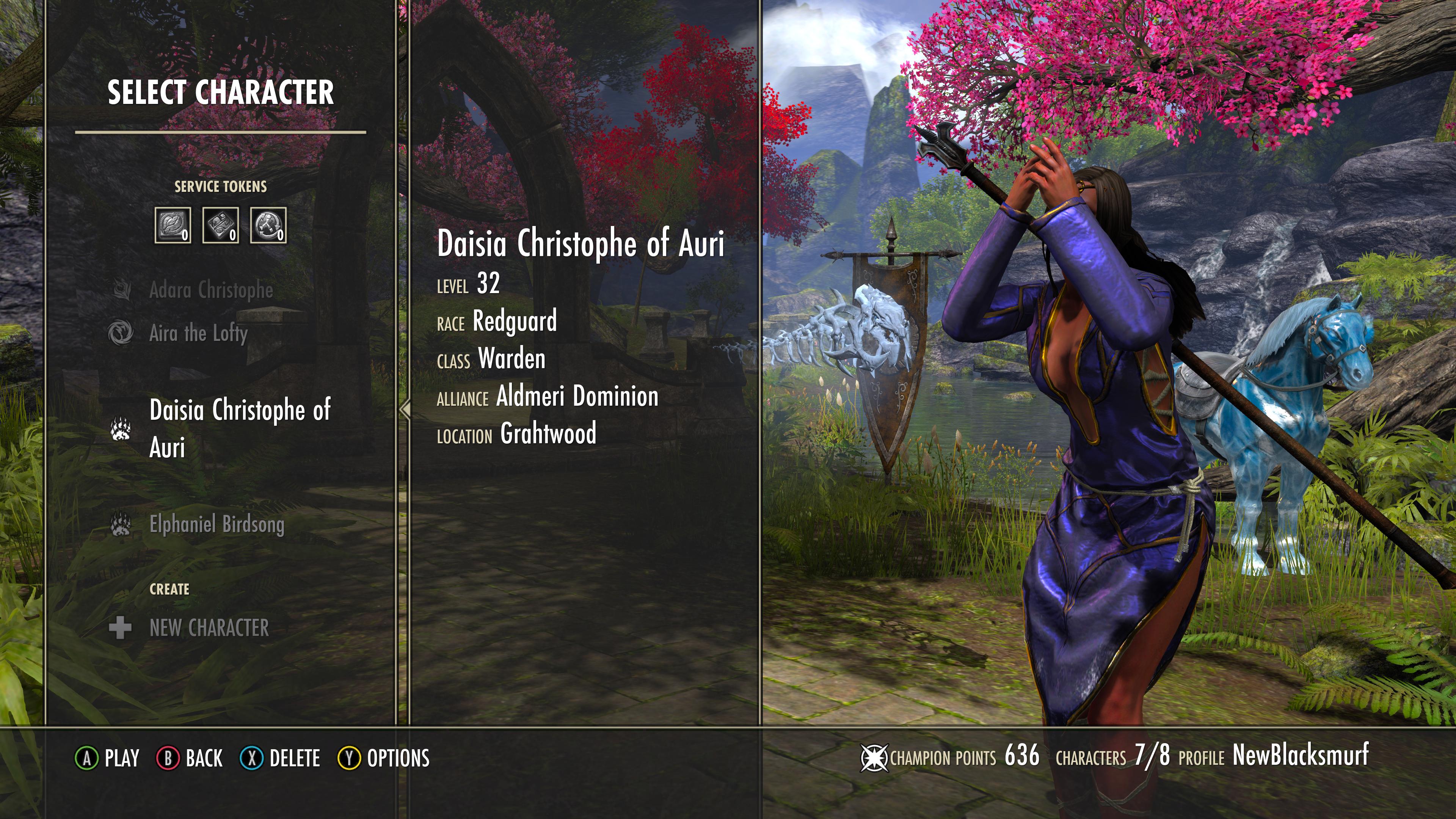 Off line character view — Elder Scrolls Online