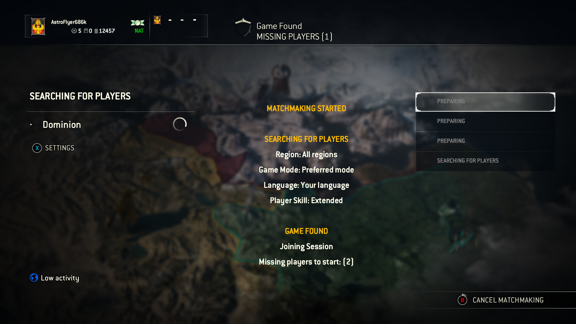 for honor matchmaking taking long